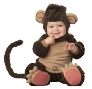 Little Character Monkey Costume